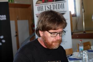 Historikern Peter Eriksson berättade om den samiska historien .