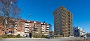 Det planerade huset vid Skultunavägen blir inte av. Illustration: Archus arkitekter