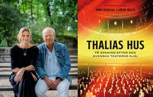 Anna Hedelius och Göran Willis söker den svenska teaterns själ i dess hus. Foto: Pressbild