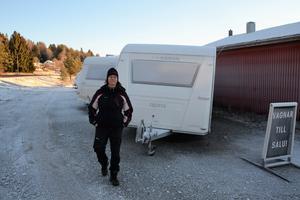 – Behoven skiftar, men många husvagnar köps för att ställas upp någonstans, på någon vinter- respektive sommarcamping, eller som tillfällig bostad för arbetare som