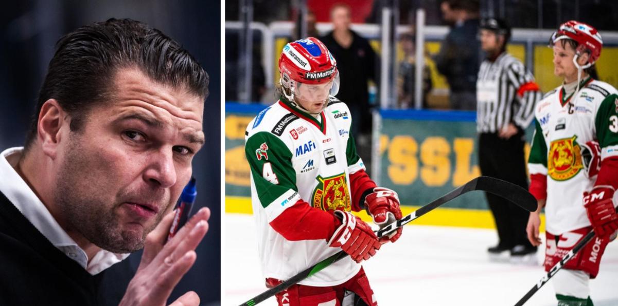 """Moratränaren om vilda forceringen i Umeå – och det snöpliga slutet på säsongen: """"Killarna ska vara stolta"""""""