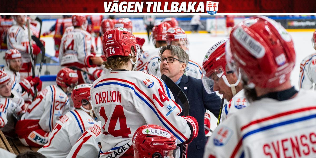 Timrå IK-tränarens medverkan oviss inför tredje finalen: