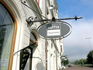 Soffta stängde 2014 efter tolv år på Stora Esplanadgatan 9 och drevs av Vanja Bengtsson och Margaretha Järverud. Arkivfoto: GD