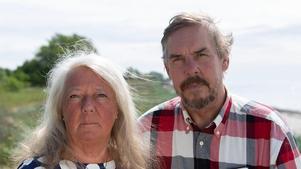 Ingrid och Joachim Wall, föräldrar till Kim Wall, skriver en bok om sin dotter, som dödades i augusti förra året.Foto: Adam Perez/ Albert Bonniers förlag