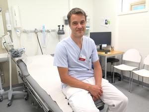 Johan Kaarme, biträdande hälso- och sjukvårdsdirektör, Region Gävleborg.