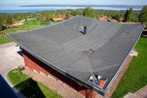Här blir det 360 kvadratmeter solceller.