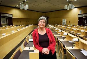 Ingrid Möller vill tillbaka in i fullmäktige. I höstens kommunval ställer hon upp som tredjenamn för Feministiskt Initiativ.