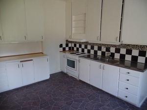 Lägenheterna är av storleken 5 rum och kök samt 4 rum och kök. Foto: Fastighetsbyrån Fagersta
