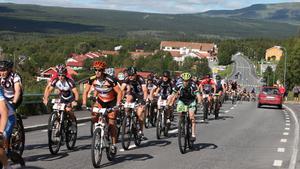 Cykelfantasterna samlas i Härjedalen då Fjällturen går av stapeln i helgen.