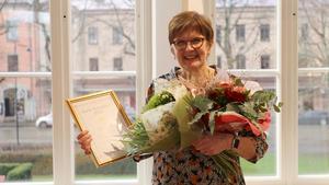 Marita Jacobsson på Maritas Textil & Interiör blev Årets handlare.