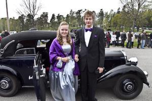 Elin Skog och William Lund träffades och blev ett par under utbildningen på Göranssonska skolan.