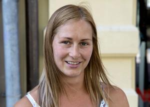 Helena Bergström, 32 år, säljkoordinator, Sundsvall