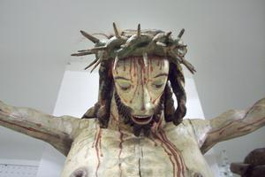 Jesus på korset. Foto: Maria Landin