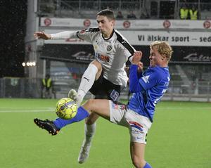 Viktor Tranberg var modig, vårdad och skicklig med bollen mot Trelleborg.