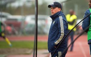 Förbundskapten Viktor Eriksson.