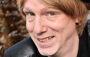 Robin Hjalmarsson har diagnosen asperger och om detta ska han berätta den 12 april i Fellingsbro.Pressfoto