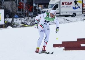 Charlotte Kalla hade bra fart under skidorna premiärdagen i Bruksvallarna och vann överlägset.