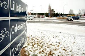 Företagarna vill att en ny väg mot E14 byggs i förlängningen av Fagerbacken.