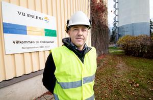 Christer Johansson, värmechef på VB energi, ett bolag som är delägt av Fagersta kommun. De andra ägarna är Vattenfall och Ludvika kommun.