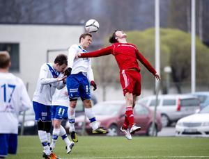Daniel Andersson och hans IFK Timrå nådde högst i matchen mot Falu FK i den södra trean.
