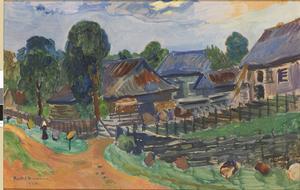 Exempel på Bertil Damms måleri,
