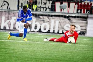 Oscar Jansson höll andra raka nollan i ÖSK-målet.