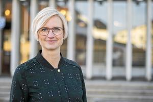 Åsa Eriksson, kommunalråd i Norberg.
