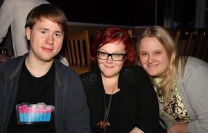Wine & Beer. David, Isabella och Johanna