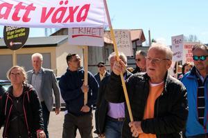 Åke Bråten har marscherat under 1 maj i nästan 40 år.