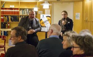 Sveriges förmåga att försvara sig diskuterades med HT:s politiske redaktör Patrik Oksanen och samtalet leddes av Emelie Lundin.