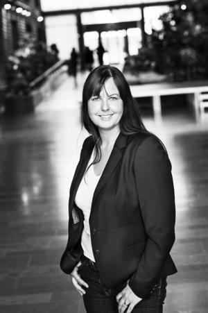 Charlotta Mellander, professor i nationalekonomi vid Högskolan i Jönköping.