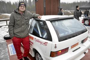 Siktar på toppen. Hampus Böe hoppades på en topplacering, berättade han strax före start.