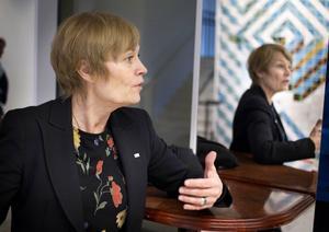 Eva von Oelreich har jobbat inom Röda korset sedan mitten av 1980-talet. 2011 blev hon dess svenska ordförande.