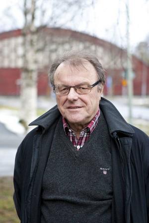 Sven-Olof Andersson, ordförande i Jämtland-Härjedalens schackförbund.