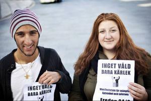 Makan Irani och Jasmine Soleymanpur är några av de studenter som står bakom arrangemanget.