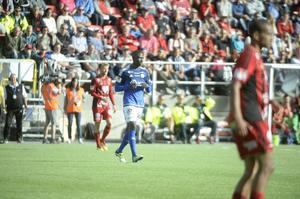 Pa Dibba har gjort sin sista match i GIF Sundsvall. Det bekräftade anfallaren för Sporten efter matchen.