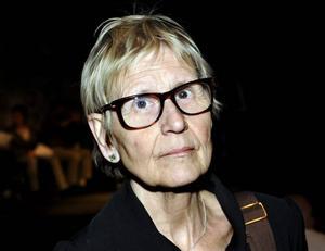 Kritisk. Kerstin Brunnberg, ordförande i styrelsen för Statens kulturråd. Foto: Tomas Oneborg/SvD/Scanpix