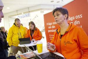 Birgit Karlsson, informatör på Pensionsmyndigheten.