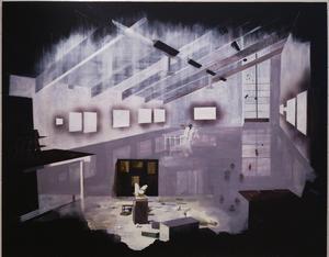 Cecilia Darle arbetar med platsspecifika verk som har direkt anknytning till konsthallens rum