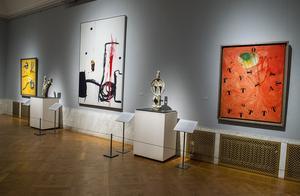 Miró-utställningen på Waldemarsudde i Stockholm, ett av de museer som har nominerats till Årets museum 2017.