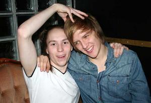 Rock&K. Isak och Mattias