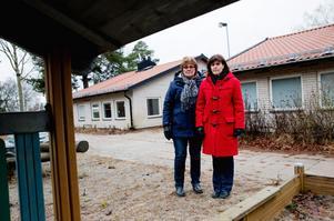 Yvonne Kjellberg och Annika Hansson.