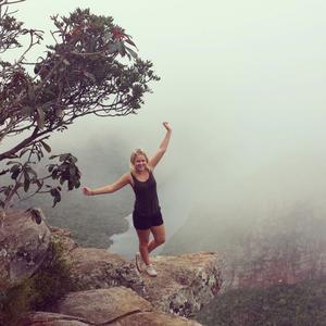 Lycka är att få göra det man drömmer om, konstaterar Emelie som åkte till Sydafrika.