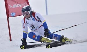 Louise Wedin, Edsbyn, är en av klubbens stora alpina talanger.