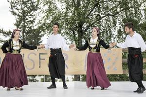 Folkdans från Cypern.