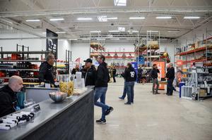 Under torsdagen hölls en invigning i de 1600 kvadratmeter stora lokalerna på industriområdet. Det bjöds bland annat på tacos.