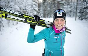 Charlotte Kalla fortsätter marknadsföra Sundsvall.
