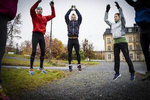 Göran Svensk, Jonas Brandt och Jessica Svensk på Powerworks på Stadsdel Norr..