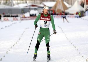 Emil Johansson slutade sjua i lördagens SM-sprint.