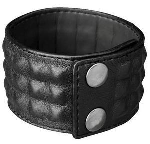 Läderklätt armband från H&M.